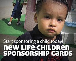 Start sponsoring a child today!